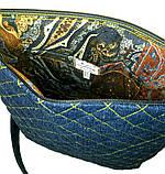 Жіноча джинсова сумочка Сонце, фото 4