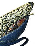 Жіноча джинсова сумочка Сонце, фото 5