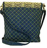 Жіноча джинсова сумочка Сонце, фото 7