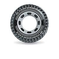 Надувной круг Intex 56268 «Шина», 114 см