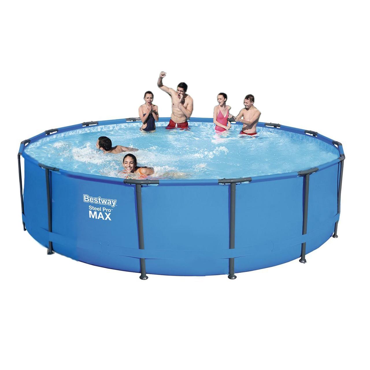 Каркасний басейн 56488 - 0, 457 х 107 см
