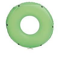 Надувной круг Bestway 36120 с канатом, 119 см, зеленый