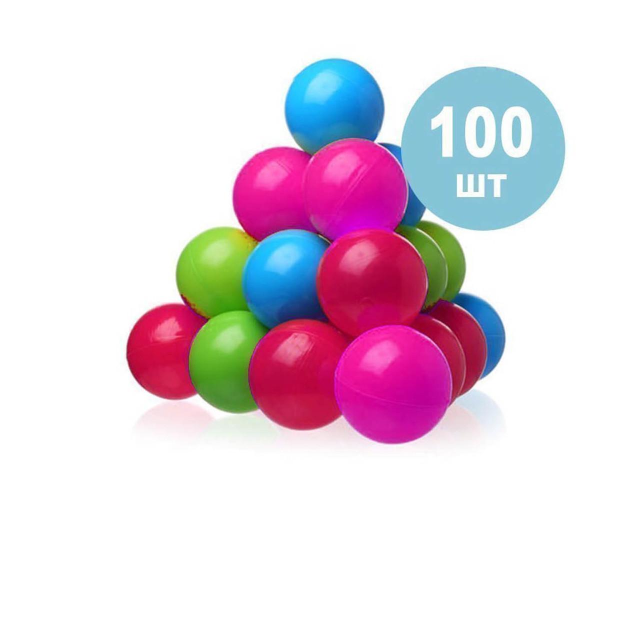 Детские шарики для сухого бассейна Intex 48100, 100 шт