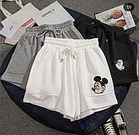 Жіночі стильні спортивні шорти з малюнком, фото 1