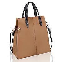 Сумка женская Fashion наплечная коричневая 408818K, фото 1