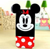 Глянцевый силиконовый чехол Минни Маус для Iphone 6