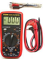 Мультиметр цифровой  VC 9208N измерение температуры и емкости, фото 1