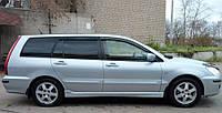 Дефлекторы окон (ветровики) MITSUBISHI LANCER wagon 2003-2006