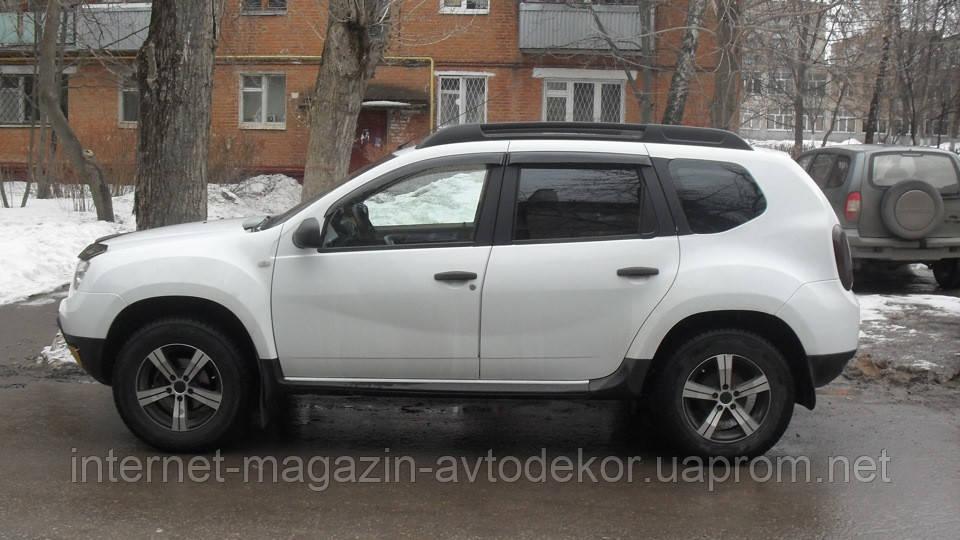 Дефлекторы окон (ветровики) Renault Duster 2011