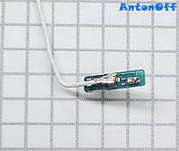 Коаксиальный кабель Samsung A305F Galaxy A30 с платкой (белый) для телефона оригинал