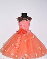 Детское нарядное выпускное платье «Анабель»