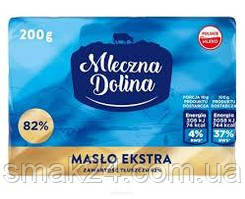 Масло сливочное Mleczna dolina 82% 200г Польша