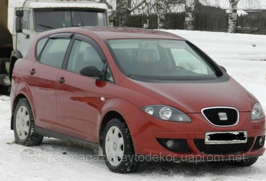 Дефлекторы окон (ветровики) SEAT Toledo III Hb 5d (5P) 2006