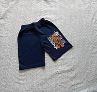 Шорты на мальчика для хлопчика синие 116р