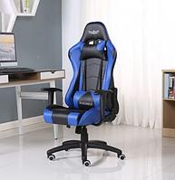 Кресло геймерское Nordhold YMIR BLACK-BLUE с подголовником игровое компьютерное раскладное профессиональное