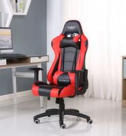Кресло геймерское NORDHOLD YMIR RED с подголовником игровое компьютерное раскладное профессиональное Красное