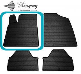 Водійський гумовий килимок передній лівий для PEUGEOT 607 (1999-2010)