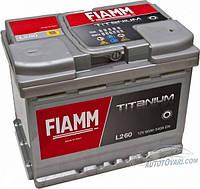 Аккумулятор автомобильный FIAMM TITANIUM PLUS 6СТ- 60Аз 540А R