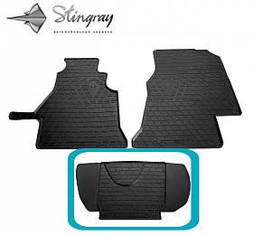 Водійський гумовий килимок передній середній на MERCEDES BENZ W901-905 Sprinter (1plus1) (1995-2006)