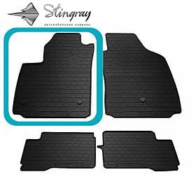 Водительский резиновый коврик передний левый для FIAT 500 electric (2012-...)