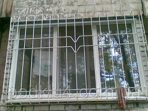 Решітки зварні з нижнім і верхнім радіусами з квадрата 12мм, фото 2