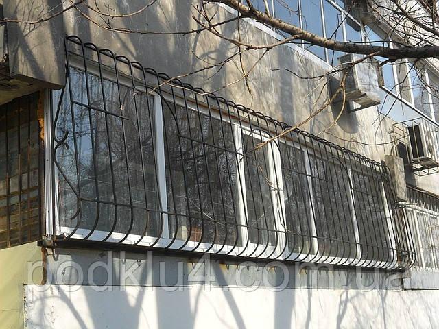 Решетки сварные с нижним и верхним радиусами из квадрата 12мм