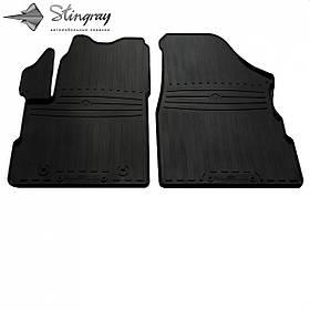 Передние автомобильные резиновые коврики (2 шт) для  CHEVROLET Equinox II (2009-2017)