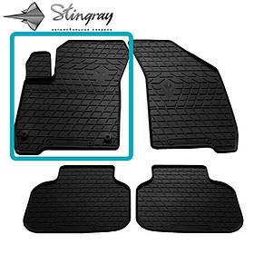 Гумовий килимок в машину передній лівий для FIAT Freemont (2011-2016)