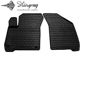 Передні автомобільні гумові килимки (2 шт) для FIAT Freemont (2011-2016)