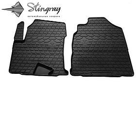 Передние автомобильные резиновые коврики (2 шт) для  GREAT WALL Haval H2 (2017-...)
