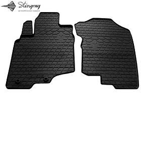Передні автомобільні гумові килимки (2 шт) для HONDA Insight II (2009-2014)