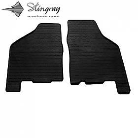 Передние автомобильные резиновые коврики (2 шт) для  LADA 21099 (1990-2011)