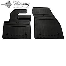 Передние автомобильные резиновые коврики (2 шт) для  LAND ROVER RANGE ROVER Evoque (L551) (2018-...)