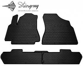 Гумові килимки в авто (4 шт) на CITROEN Berlingo II (2008-2018)