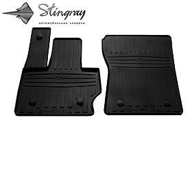 Передні автомобільні гумові килимки (2 шт) для MERCEDES BENZ W463 G (2018-...)