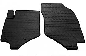 Передние автомобильные резиновые коврики (2 шт) для  PEUGEOT 2008 II (2019-...)