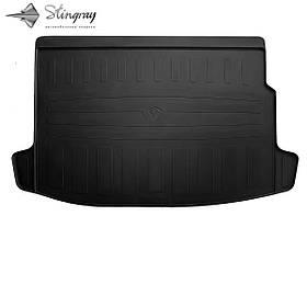 Гумовий килимок в багажник для RENAULT Megane III (2008-2015) (universal) )