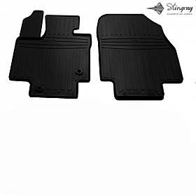 Передні автомобільні гумові килимки (2 шт) для TOYOTA Highlander (XU70) (2019-...)