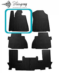 Водительский резиновый коврик передний левый для TOYOTA Tundra (2014-...)