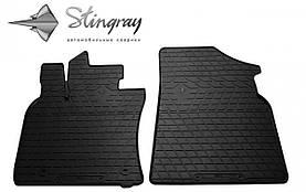 Передние автомобильные резиновые коврики (2 шт) для  TOYOTA Camry (XV70) (2017-...)