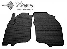 Передні автомобільні гумові килимки (2 шт) для MITSUBISHI Carisma (1995-2004)