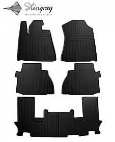 Коврики в машину (6 шт) для TOYOTA Sequoia II (XK60) (2008-...)