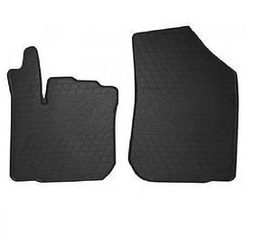 Передние автомобильные резиновые коврики (2 шт) для  RENAULT Sandero (2012-2020)