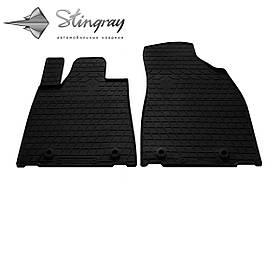 Передние автомобильные резиновые коврики (2 шт) для  LEXUS RX (2009-2015)