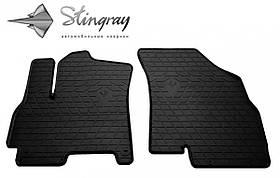 Передние автомобильные резиновые коврики (2 шт) для  CHERY Tiggo 7 (2016-2020)