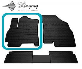 Водительский резиновый коврик передний левый для CHERY Tiggo 7 (2016-2020)