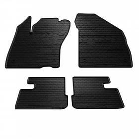 Передні автомобільні гумові килимки (2 шт) для FIAT Tipo (356) (hatchback) (2015-...)