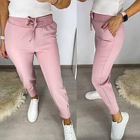 Жіночі стильні штани c манжетами, фото 1