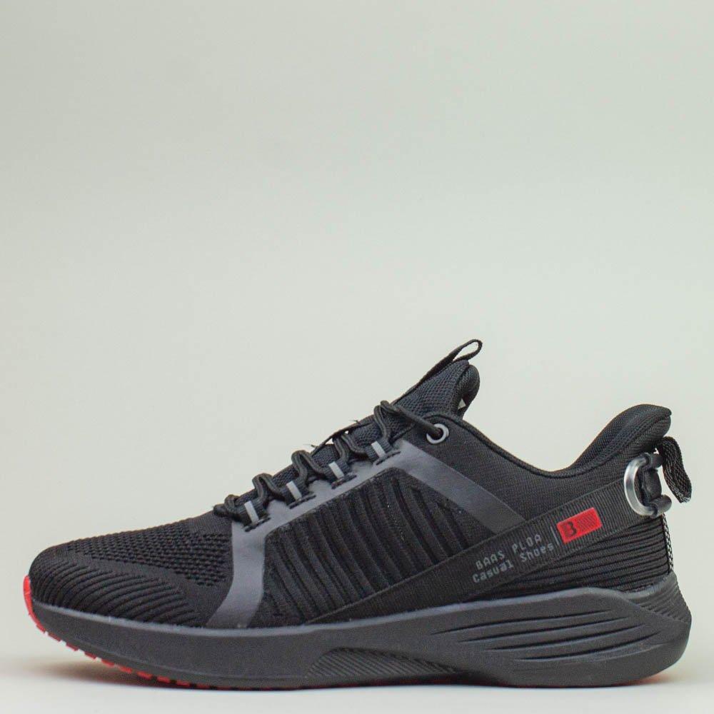 Кроссовки BaaS 7061-1 М 579247 Черные