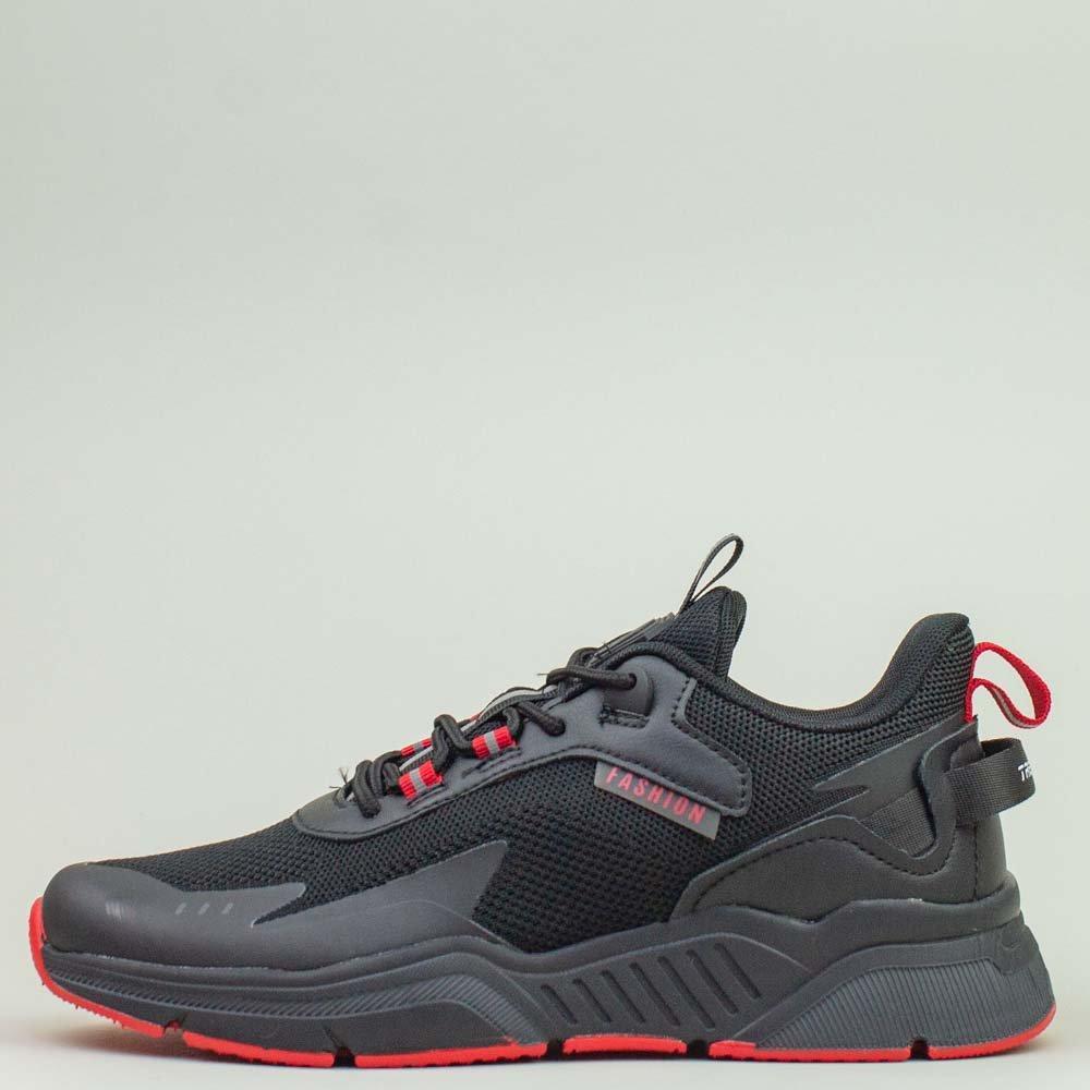 Кроссовки BaaS 7090-1 М 579249 Черные